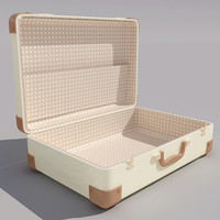 3d model suitcase case dodded