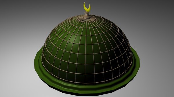 3d model dome mosque
