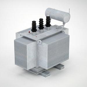 transformer 3d model