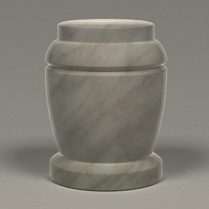 funeral urn 3d 3ds