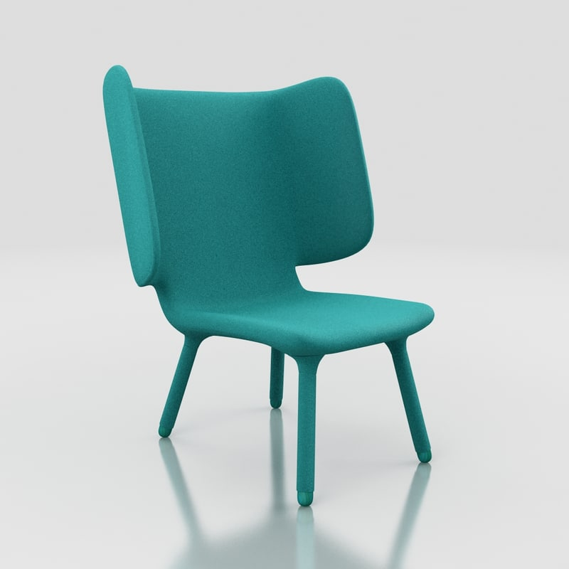 3ds max valdemar chair