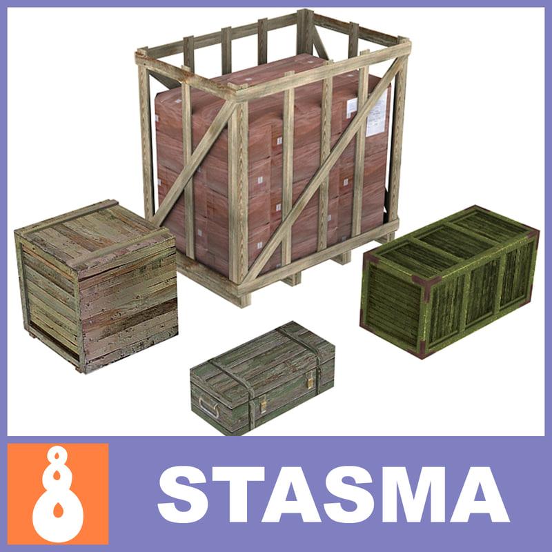 fbx crates box
