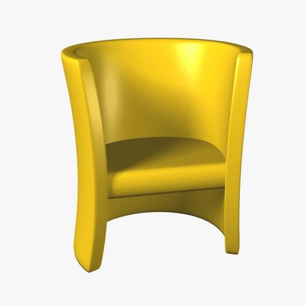 chair swing 3d model