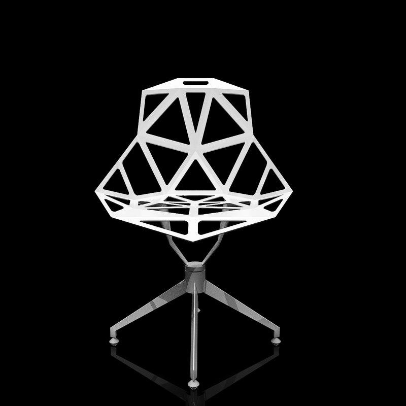 chair - 4star 3d model
