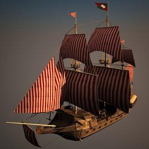 galleon 3d 3ds