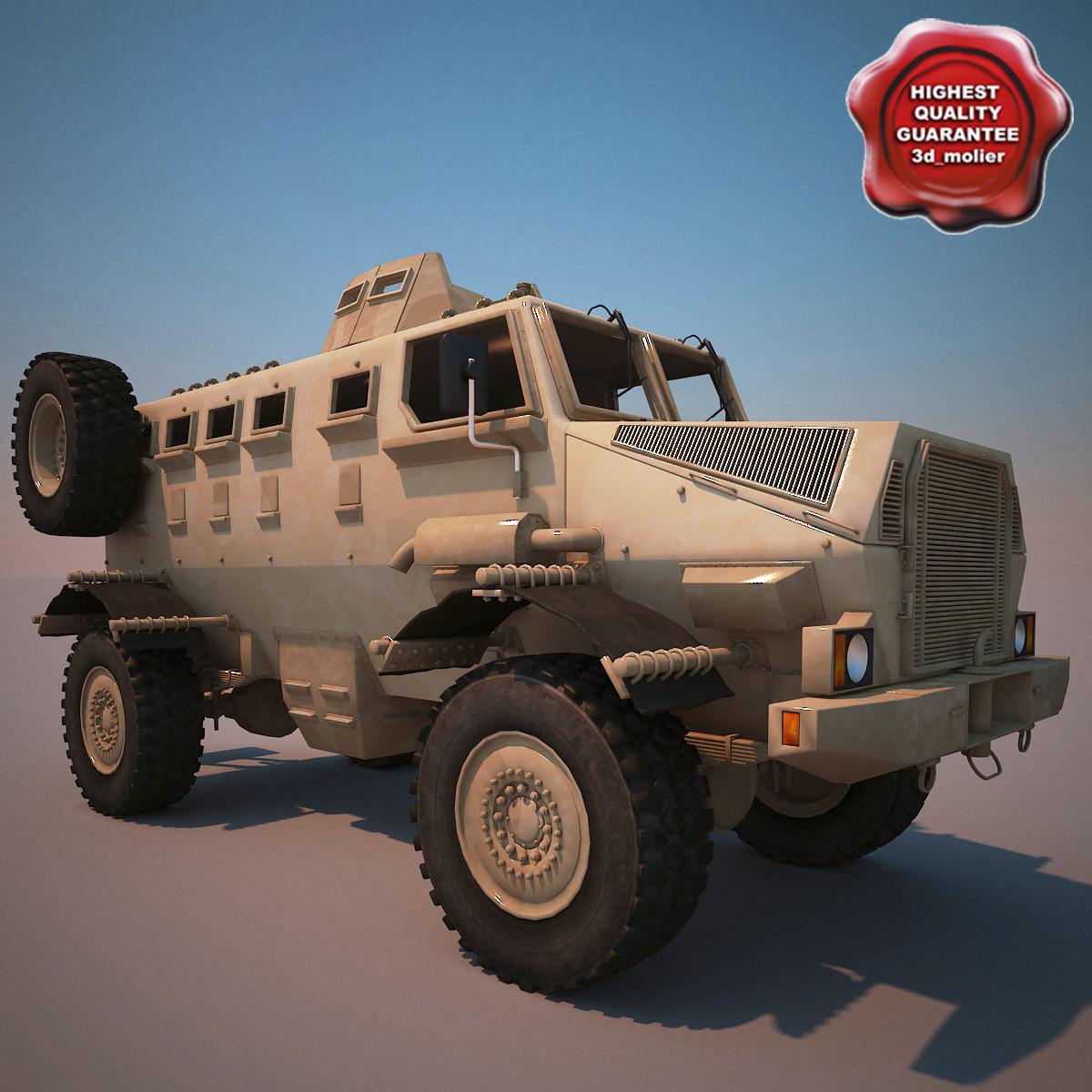 ivema gila ambush protected 3d model