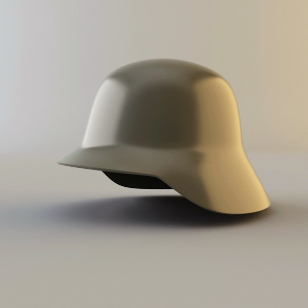 german steelhelmet 3d model