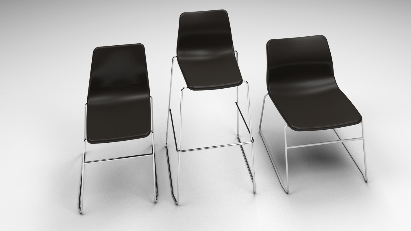 3d max naughtone viv chair set