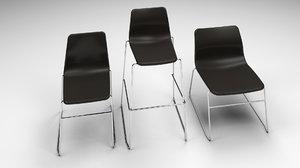 3d max naughtone viv chair set