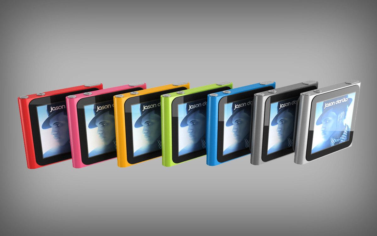 3d ipod nano