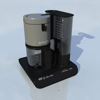 bosch coffee machine 3d model