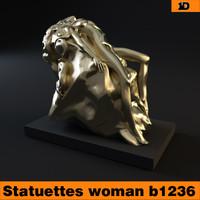 statuettes woman v2 b1236