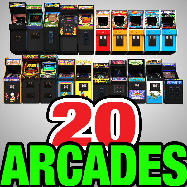 arcades machines 3ds