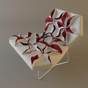 3ds antibodi moroso flower chair