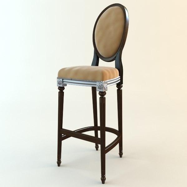3d 3ds bar chair