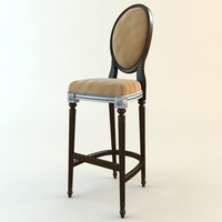Antique Style Bar Chair