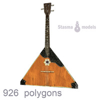 russian balalaika stringed max