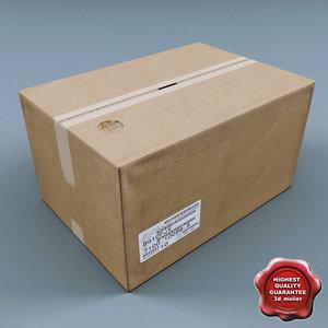 cardboard box v3 max