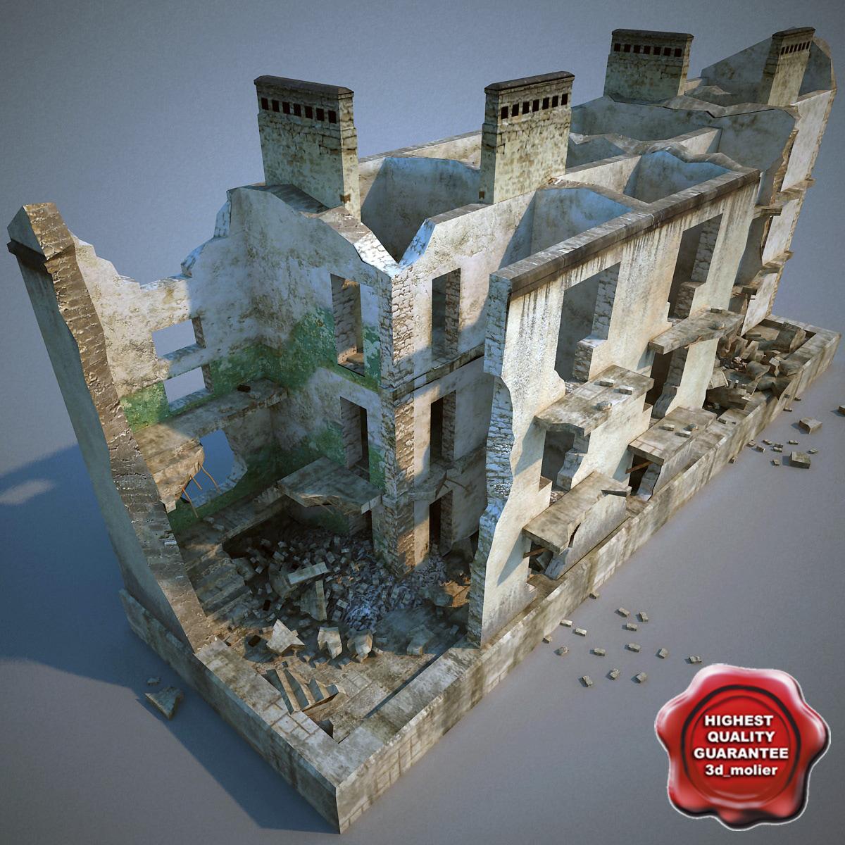 destroyed house v2 lwo