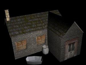 house feudal 3d max