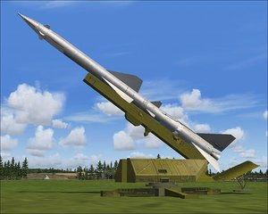 free max model sa-2 missile site