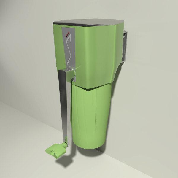 ice crusher 3d model