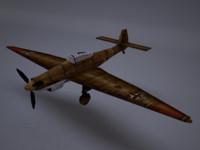 3d model wwii plane