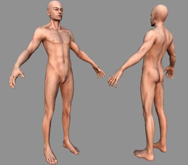 maya human male