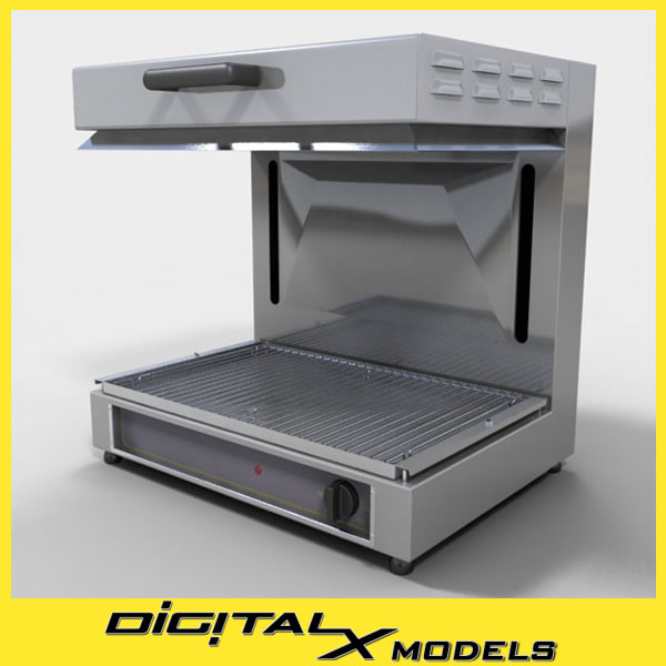 3d commercial finishing oven