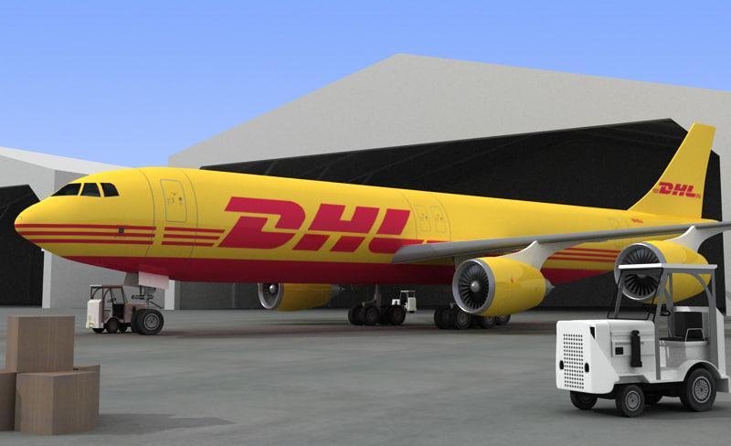 aeroplane aero plane 3d model