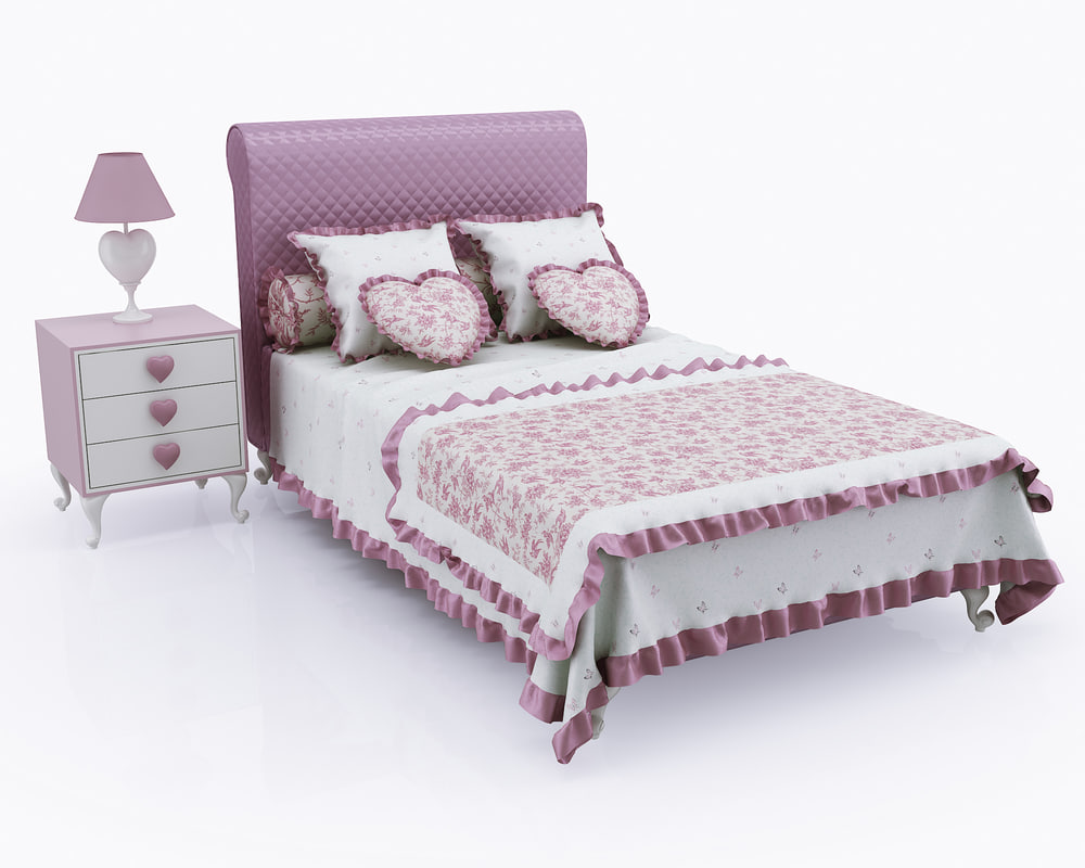 children bed tumb halley 3d max