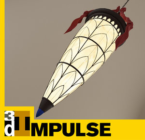 3d chandelier lamp model