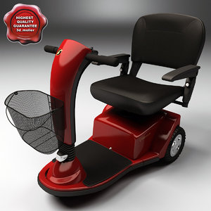 electric scooter gt gc240 3d 3ds