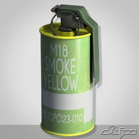 Grenade M18 Yellow Smoke