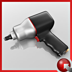3d model impact wrench