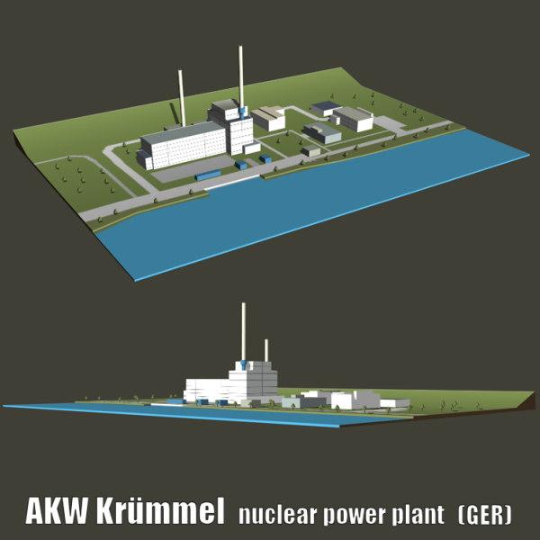 3d nuclear plants kruemmel