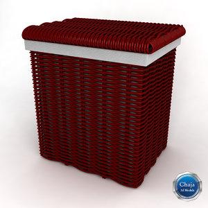 3d max laundry basket