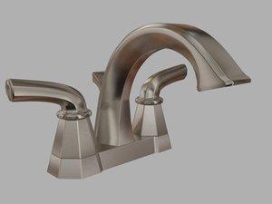 3d model moen felicity faucet