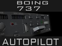 autopilot boeing 737 obj