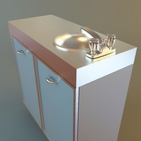 Medical Office Sink Cabinet