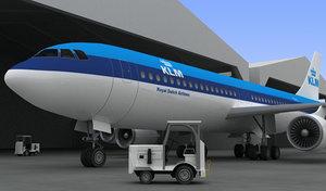 3d model aeroplane aero plane