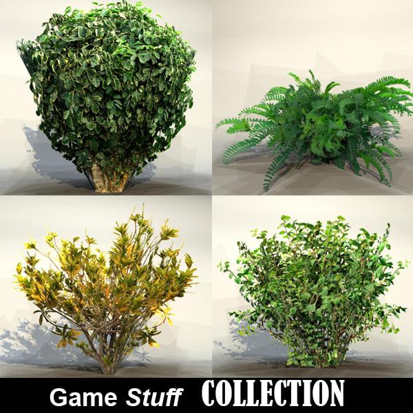 3ds max bush pc ps3