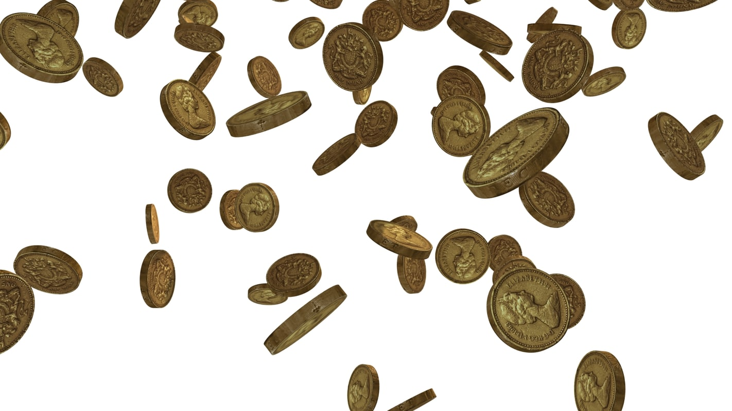 max pound coins falling