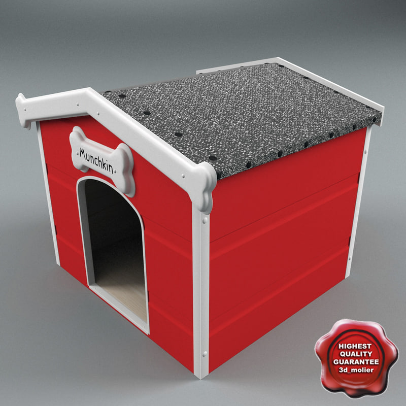 maya dog kennel v3