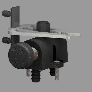screw blade chassis 3d model