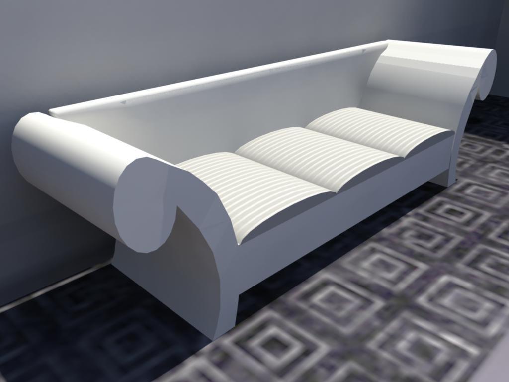 obj sofa -