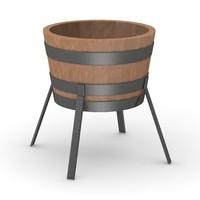 obj medieval bucket