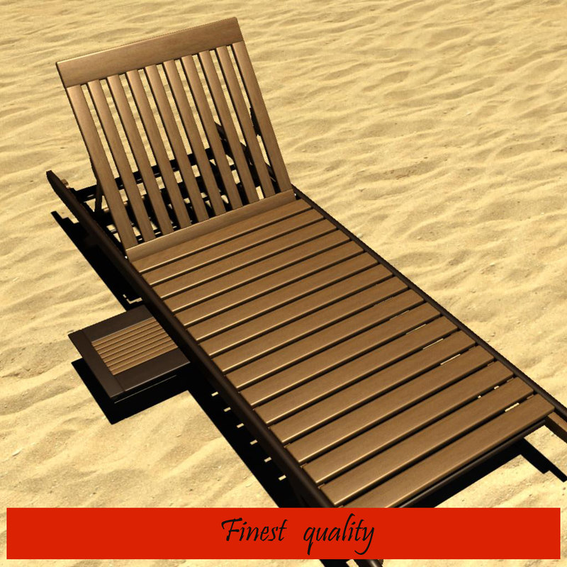 3d model beach