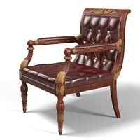 regency library chair x
