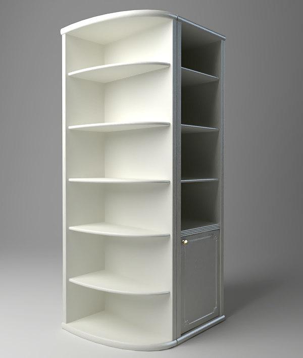 display cabinet 3d max